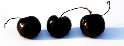 tre körsbär